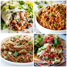 Slow Cooker or Instant Pot Cafe Rio Sweet Pork Recipes top photo collage