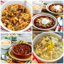 Slow Cooker and Instant Pot Ground Beef Dinners top photo collage