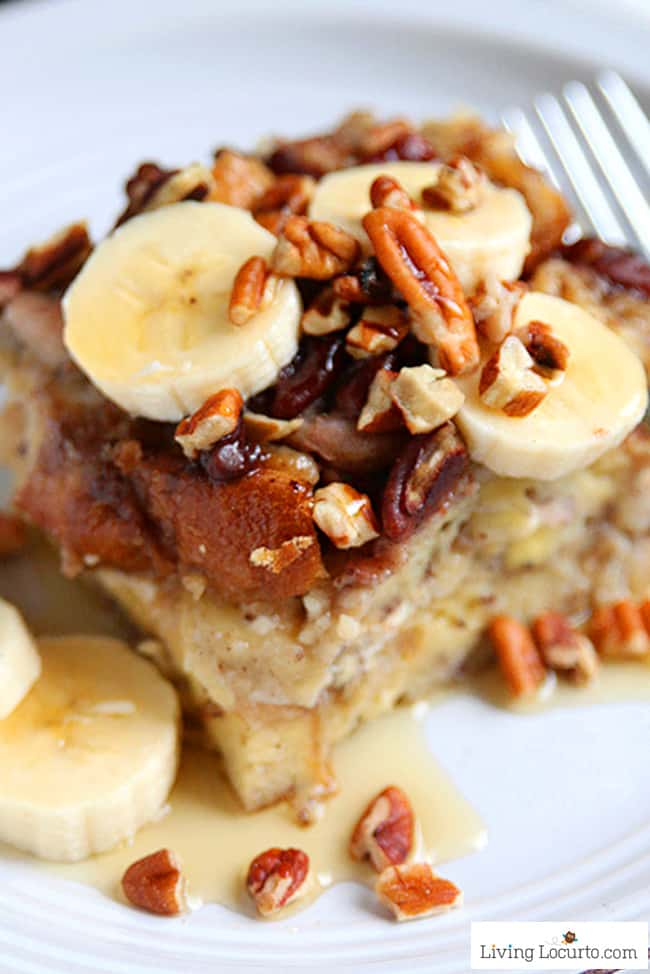 Instant Pot Banana French Toast from Living Locurto