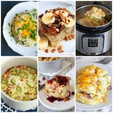 The BEST Instant Pot Breakfast Recipes photo collage