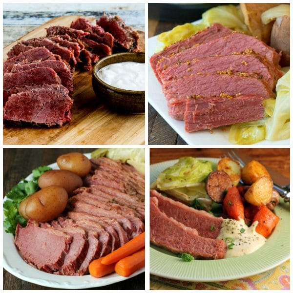 The BEST Instant Pot Corned Beef Recipes top photo collage
