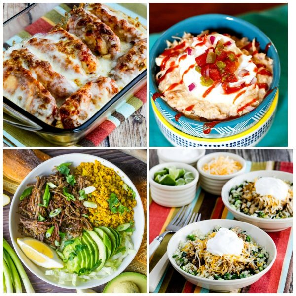 Low-Carb Mexican Food Dinners to Make in the Instant Pot top photo collage