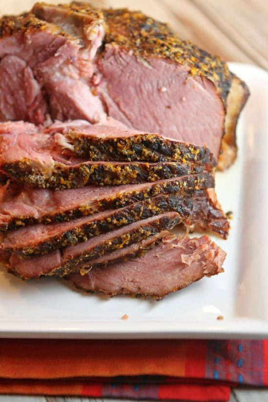 Slow Cooker Cider Ham from Recipe Girl