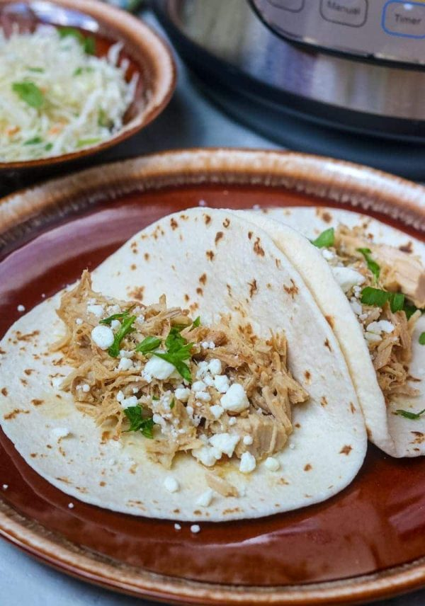 """Instant Pot Carnitas Tacos from a Mind """"Full"""" Mom"""