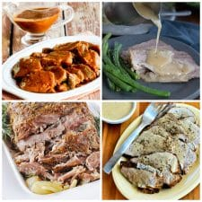 Perfect Pork Roast Recipes for the Instant Pot or Slow Cooker top photo collage