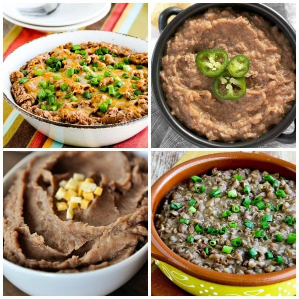 The BEST Slow Cooker or Instant Pot Refried Beans