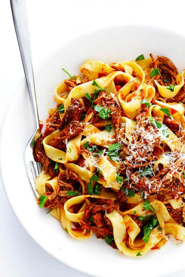 Slow Cooker Beef Ragu from Gimme Some Oven