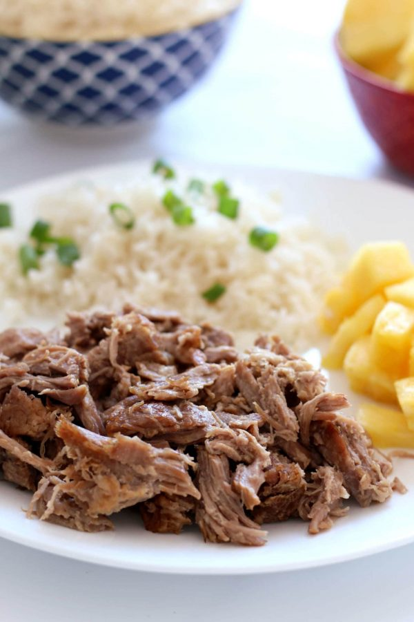 Instant Pot Kalua Pork from 365 Days of Slow + Pressure Cooking