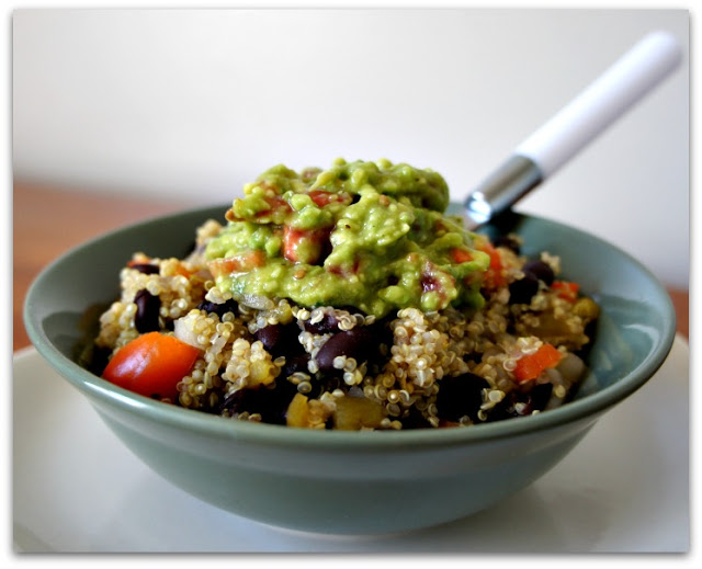 Slow Cooker Vegetarian Quinoa Mexican Bowlfrom 365 Days of Slow + Pressure Cooking