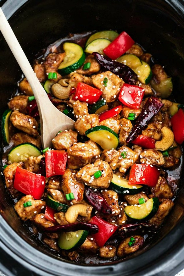 Healthier Kung Pao Chickenfrom Life Made Sweeter