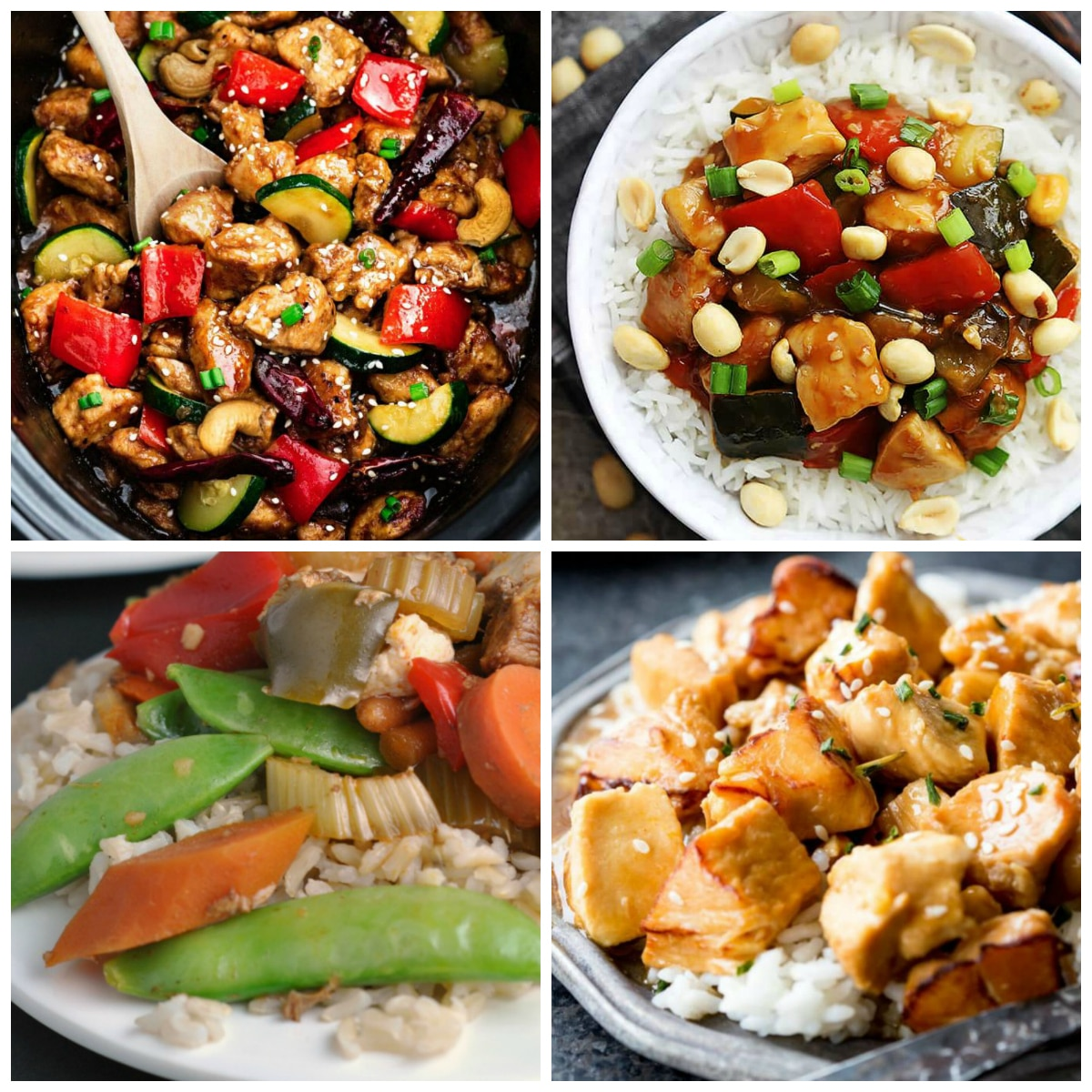 Four Fantastic Kung Pao Chicken Recipes (Slow Cooker or Instant Pot)