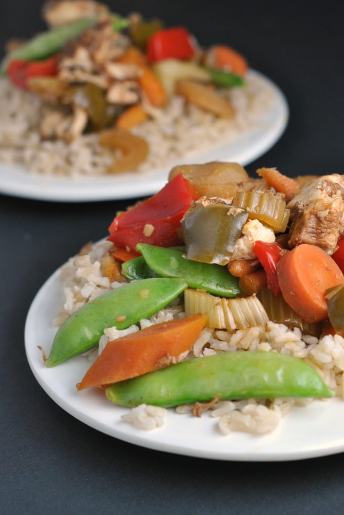 Slow Cooker Kung Pao Chicken from Prevention RD