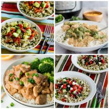 Instant Pot Chicken and Rice Recipes top photo collage