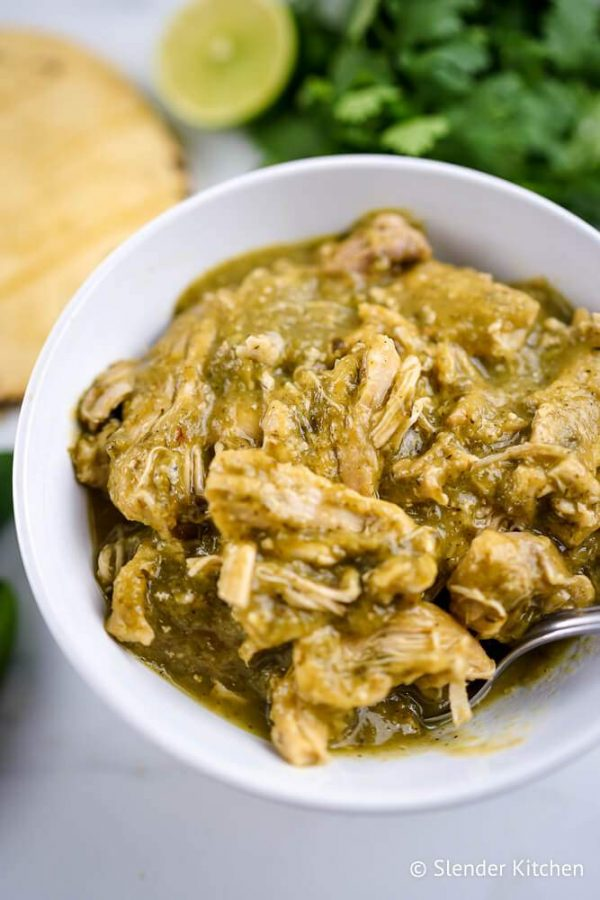 Authentic Chile Verde from Slender Kitchen
