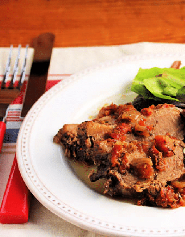 Mediterranean Beef Brisket from the Perfect Pantry