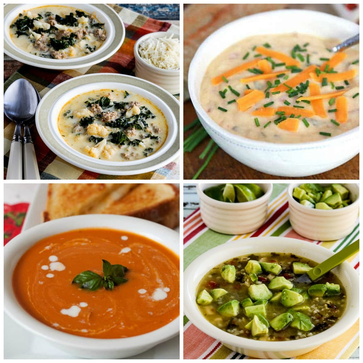 The BEST Instant Pot Soup Recipes top collage photo