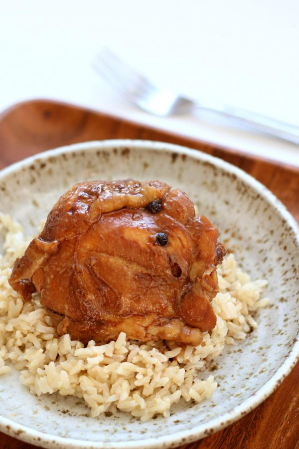 Instant Pot Chicken Adobo from 365 Days of Slow + Pressure Cooking