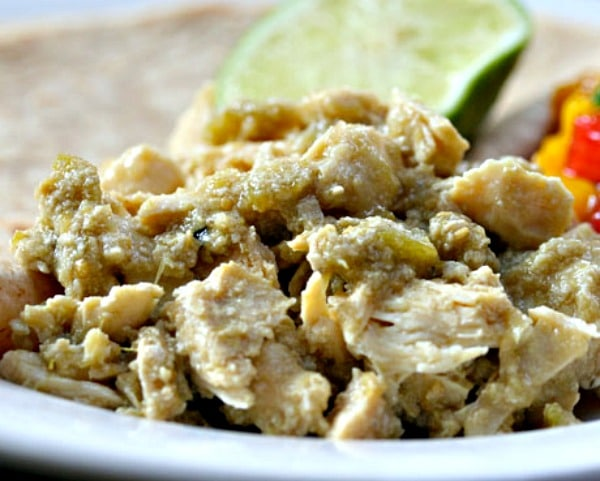 Slow Cooker Green Chile Chicken from The Perfect Pantry