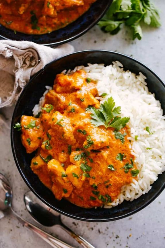 Instant Pot Butter Chicken from Diethood