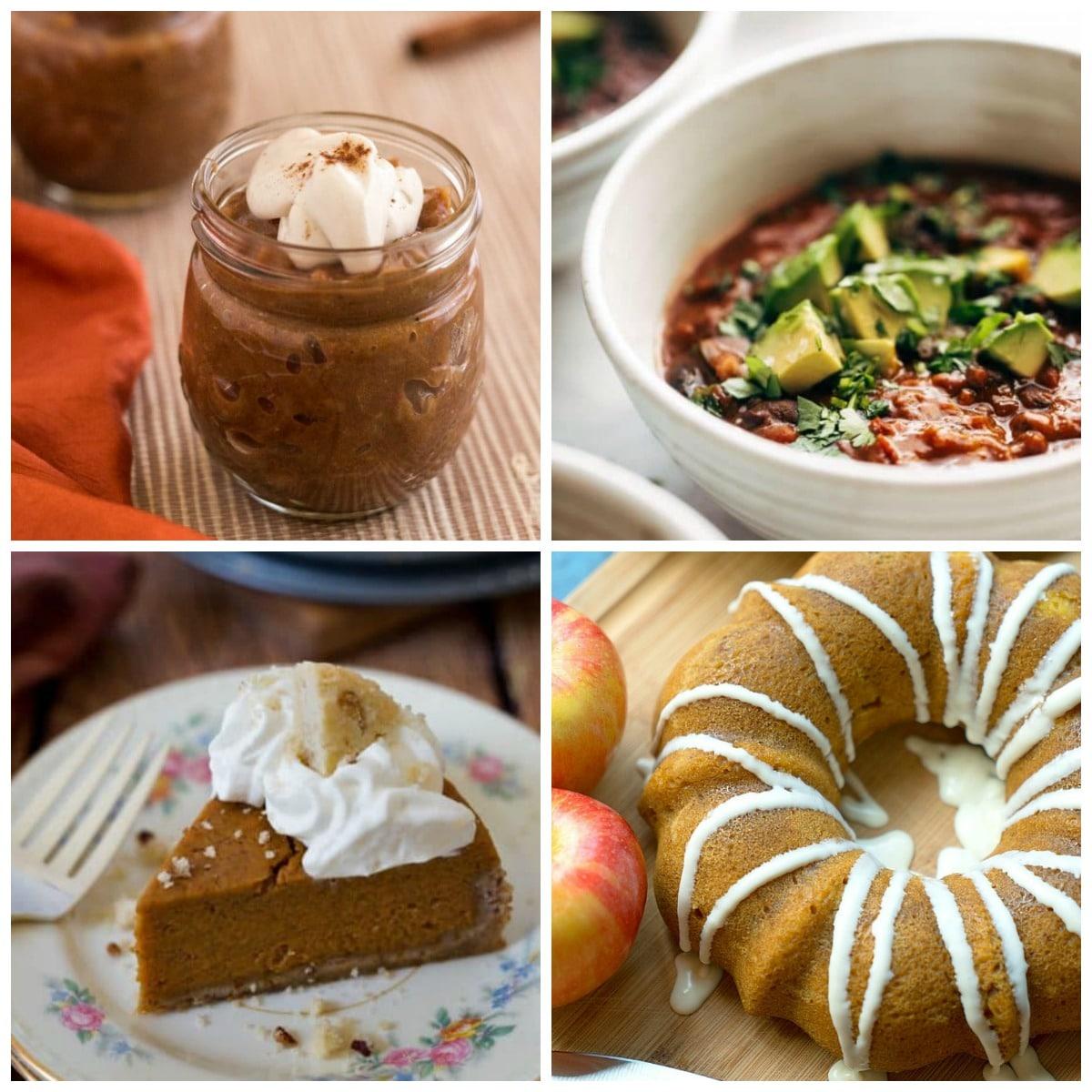 Instant Pot Pumpkin Recipes top photo collage