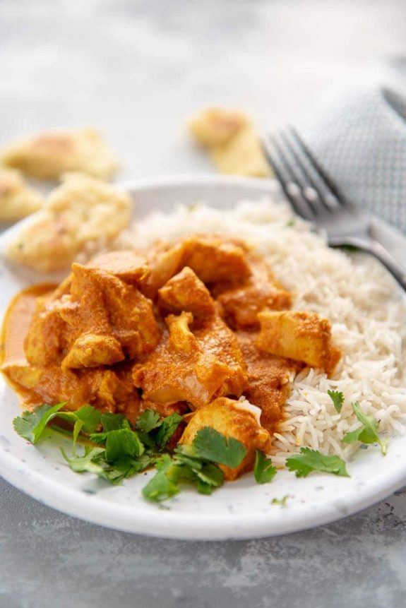 Slow Cooker Butter Chicken from Slow Cooker Gourmet
