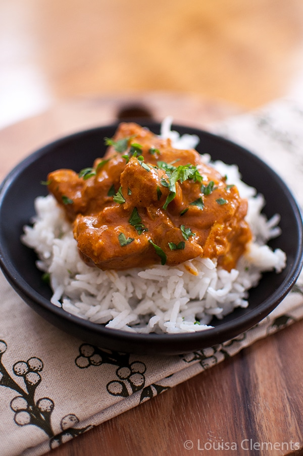 Slow Cooker Butter Chicken from Living Lou