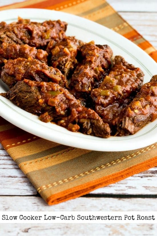 Slow Cooker Low-Carb Southwestern Pot Roast from Kalyn's Kitchen