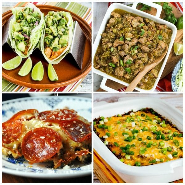 50 Low-Carb Slow Cooker Dinners top photo collage