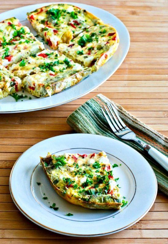 Slow Cooker Breakfast Casserole with Artichokes