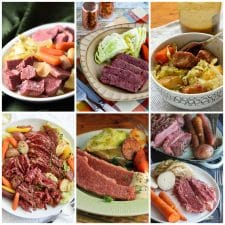 Slow Cooker Corned Beef collage photo