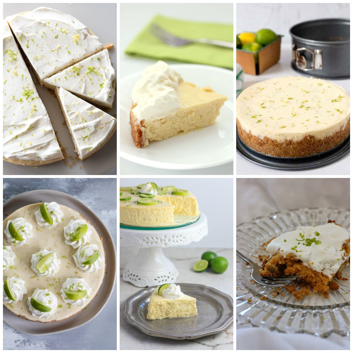 Instant Pot and Slow Cooker Key Lime Pie Desserts photo collage