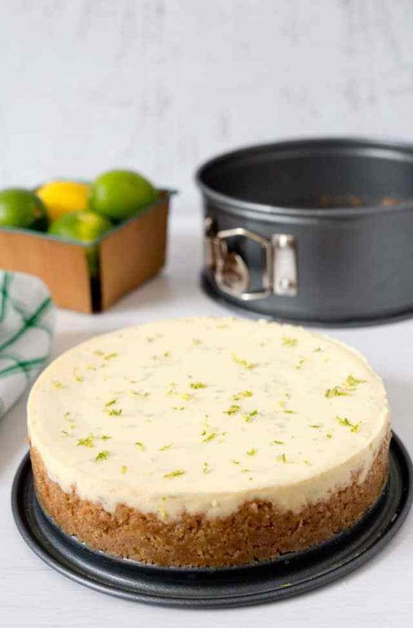 Pressure Cooker Key Lime Pie from Pressure Cooking Today