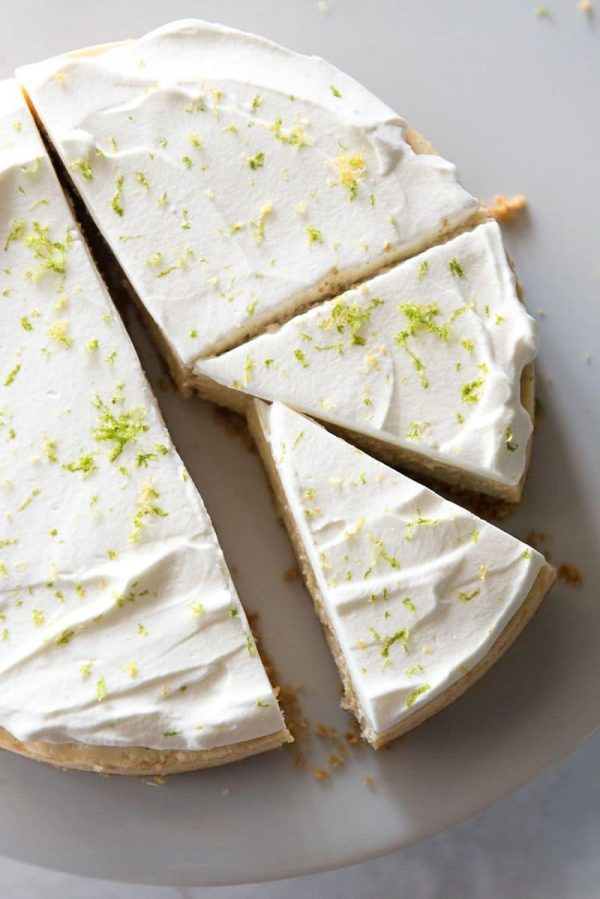 Instant Pot Key Lime Cheesecake from Mountain Mama Cooks
