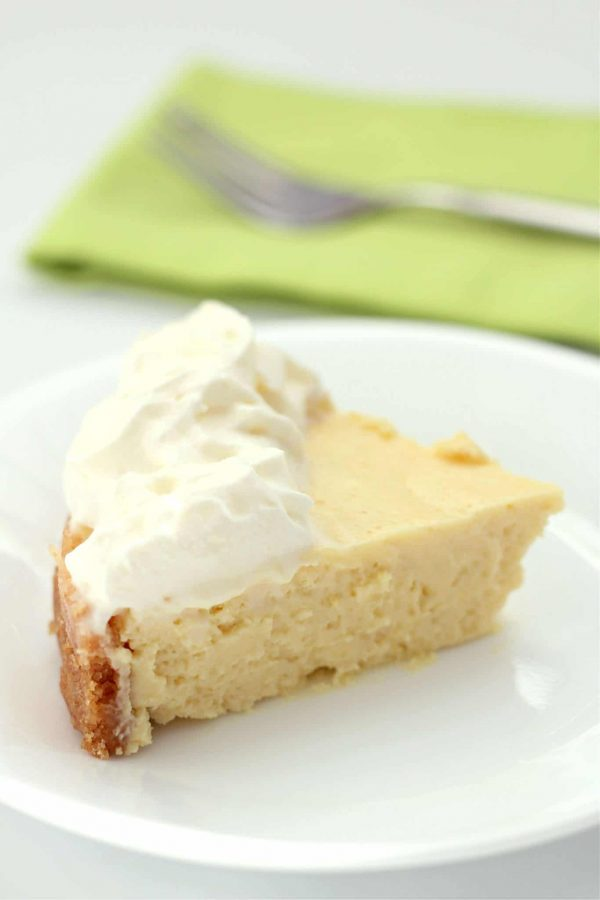 Instant Pot Key Lime Pie from 365 Days of Slow + Pressure Cooking