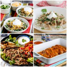 Slow Cooker or Instant Pot Salsa Pork Recipes top photo collage