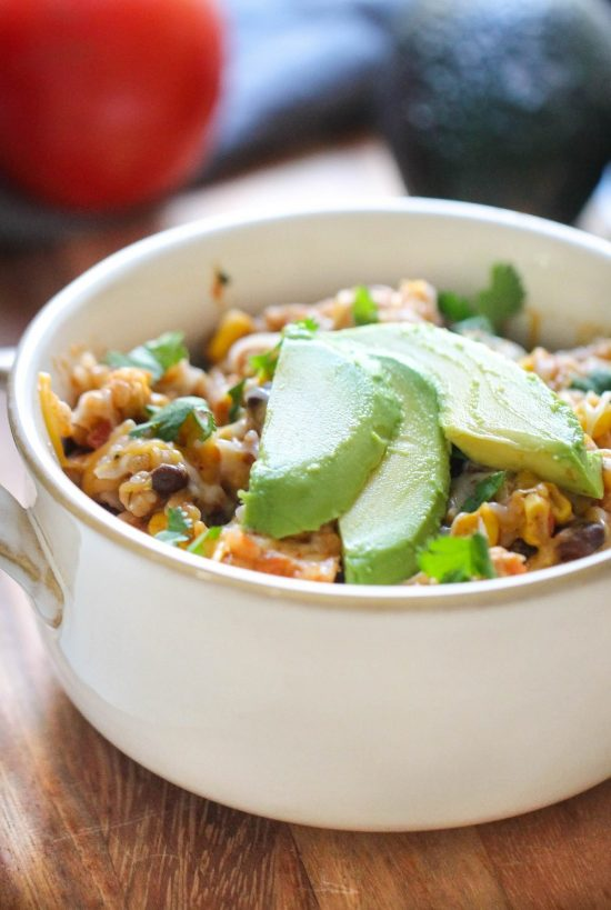 Spicy Instant Pot Chicken and Rice Bowls from Six Sisters' Stuff