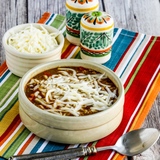 Instant Pot Green Chile Turkey Enchilada Soup thumbnail image