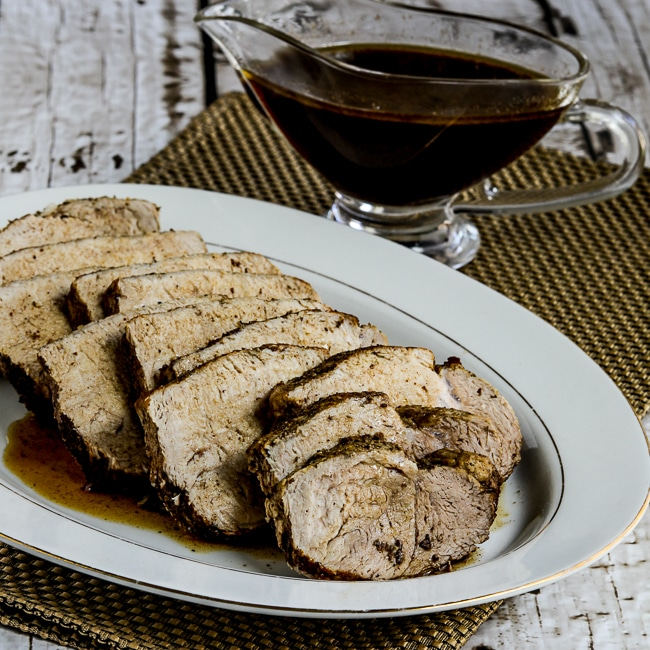 Balsamic Pork Roast from Kalyn's Kitchen