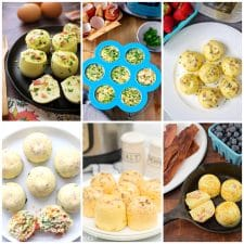 Instant Pot Egg Bites Recipes photo collage