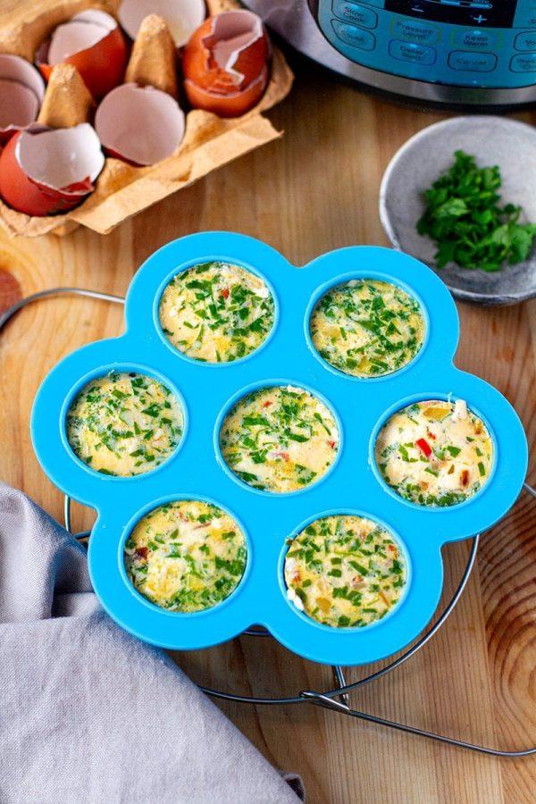 Mediterranean Egg Bites from Instant Pot Eats