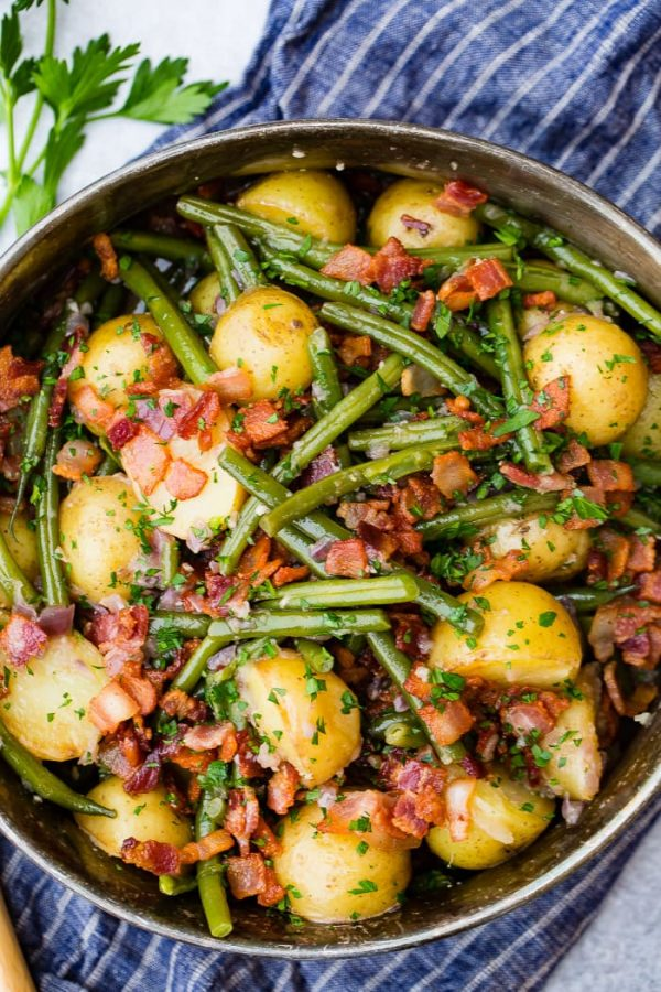 Green Beans and Potatoes in the Instant Pot from Oh Sweet Basil